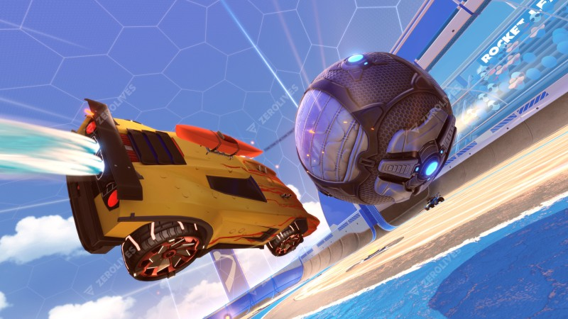 Rocket League Beach Blast Event to end next week