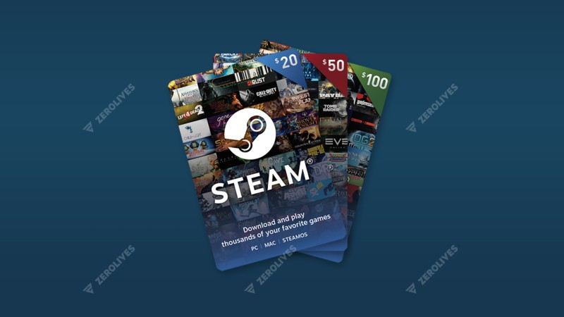 Valve introduces Steam Digital Gift Cards, now available worldwide