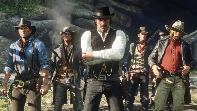 Rockstar Games releases 8 new Red Dead Redemption 2 screenshots